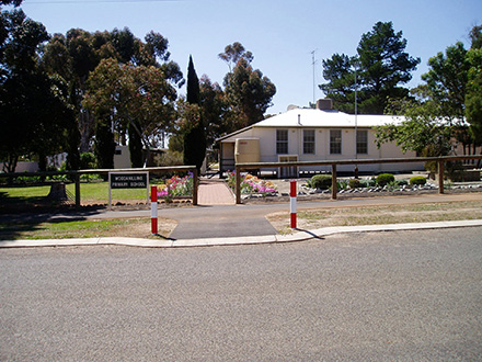 Street view of the Woodanilling Primary School